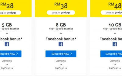 Best RM 50 Internet Prepaid Plans